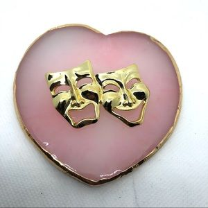 Vintage Theater Pin Brooch